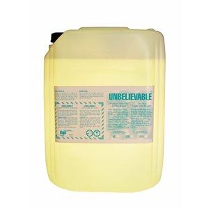 Nettoyant liquide pour véhicule UNBELIEVABLE 4L