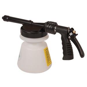 Hydro-foamer pulverizer