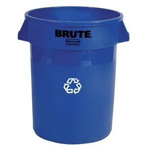 'Brute' 20gal round recycling container
