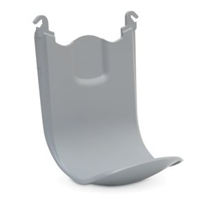Shield' floor and wall protector for FMX dispensers