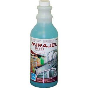 MIRAJEL RTU - Récurant pour fours, friteuses et plaques chauffantes
