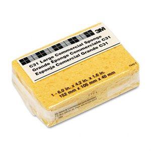 Éponge cellulose 6'' X 4.25'' X 1.63'' commerciale