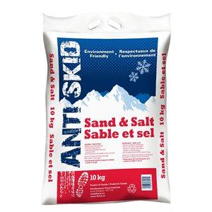 Abrasive ice metler salt and sand 10kg