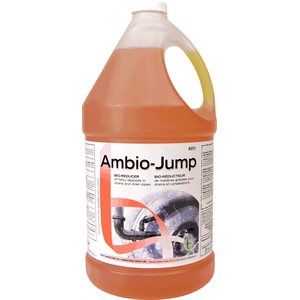 AMBIO-JUMP - Bio-reducer of fatty deposits in drains and drain pipes