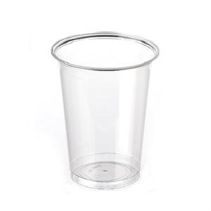 Clear plastic glass 7oz 500 / cs