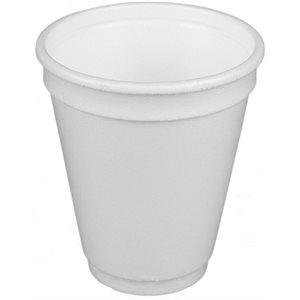 Foam cup 8 oz 1000 / cs