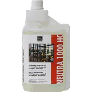 NEUTRA 1000 HC - Ultra-concentrated multi-purpose neutral detergent 1L