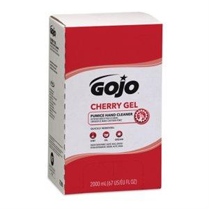 Nettoyant à main en gel GOJO PRO-TDX cerise 2000ml 4 / bte