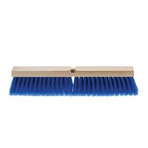 "Push broom wood block 18"" light sweeping"
