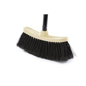 Economical' 9,75'' x 3,75'' magnetic upright broom 48'' handle