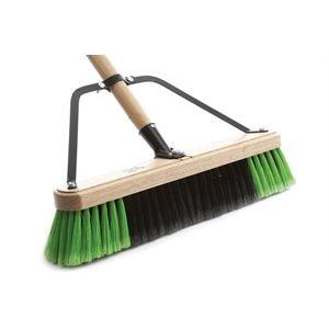 Professional' Fine sweep 24'' push broom
