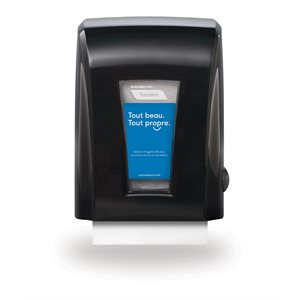 Tandem™ Mechanical No-Touch Roll Towel Dispenser, Black