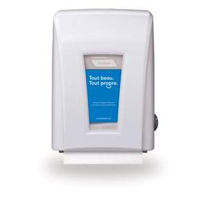 Tandem™ Mechanical No-touch Roll Towel Dispenser, White