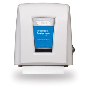 Tandem™ Small Footprint Roll Towel Dispenser White