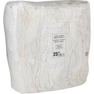 White cotton rag 25lbs