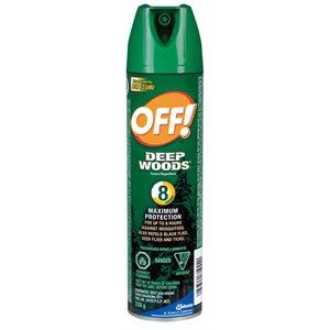 OFF Deep woods aerosol insect repelent 230 g