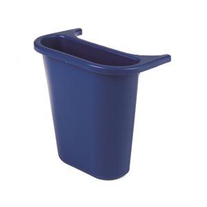 """Recycling side bin blue 10.6"""" x 7.25"""" x 11.5"""""""