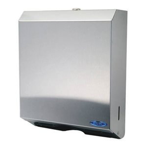 "Multi fold paper / towel dispenser 11""x13.5""x4.125"" stainless steel"