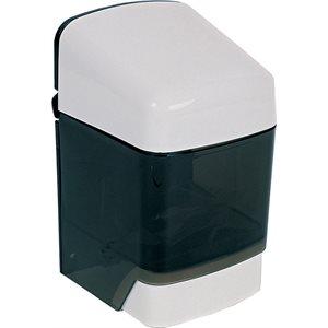 Push button soap dispenser 48 oz white plastic