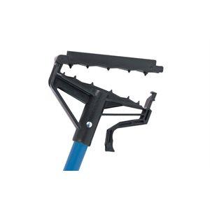 "LOCK 'N' LOAD fiberglass blue wet mop handle 54"""