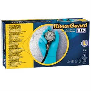KLEENGUARD blue nitrile gloves