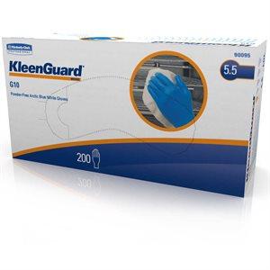 KLEENGUARD Artic blue nitrile gloves medium 200 / box