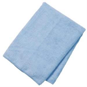 Linge microfibre bleu 10 / pqt