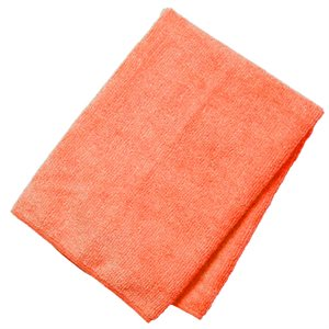 Linge microfibre orange 10 / pqt