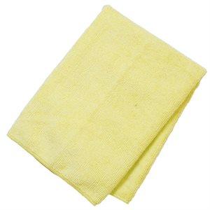 Linge microfibre jaune 10 / pqt