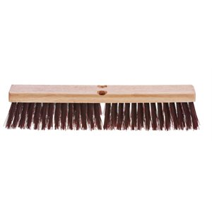 "18"" polypro brush broom"