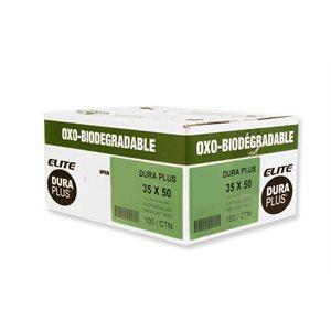 Sacs à déchets Oxodégradables extra-forts 35 x 50 - 100 / cs