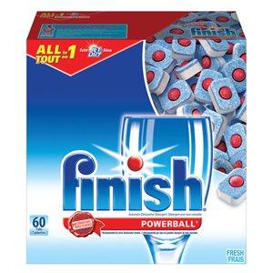 FINISH powerball dishwasher detergent fresh scent