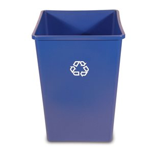 'Untouchable' recyable container 35gal blue