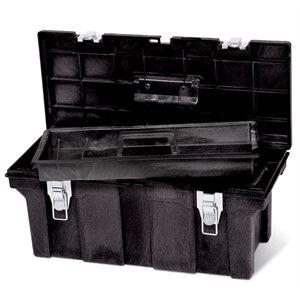 """Boite a outils 26"""" noir"""