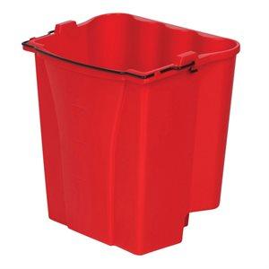 Seau pour eau usée pour WaveBrake rouge 8.75 gal
