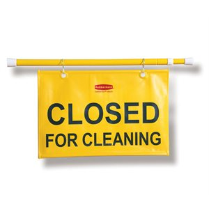 Hangable sign *Closed for cleaning*