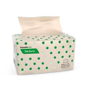 Perform™ Interfold Napkins for Tandem 1 ply, natural, 188 / pk - 32 / cs