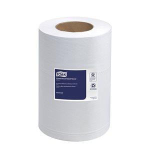 TORK advanced soft mini centerfeed hand towel 2-ply white 12 / box
