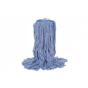 Blue mop with broad band 31oz