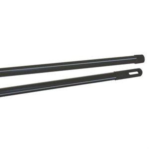Black broom handle 54''